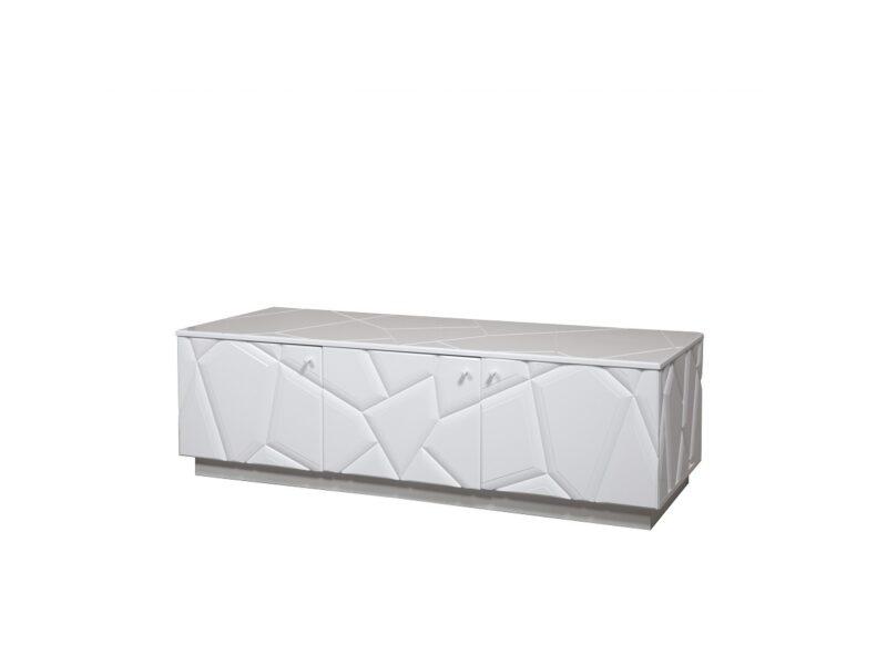 Tv-alus - 3D Ken, Valge