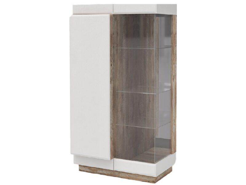 Шкаф с витриной Л-Rokset
